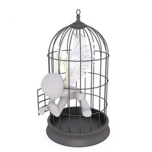 sortir cage, se libérer des tabous