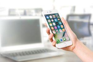 smarpthone pour accéder à des applications de coaching en ligne