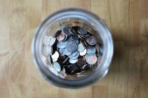 bocal pièces financer projet